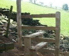 Rights of Way stile