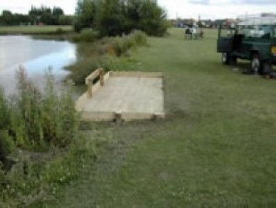 Fishing Platform completed