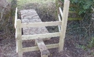 Rights of Way stile & bridge